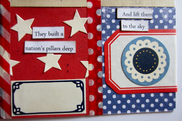 Red, White, & Blue Tiny Book 7