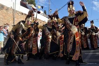 Moors & Christians Festival/ Mojácar 2013/  Fête maures et chrétiens /fParada moros y critianos