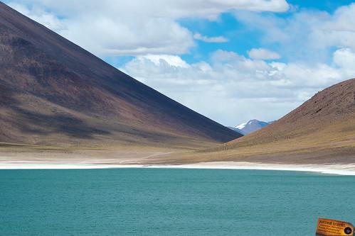 Laguna Miniques, Chile