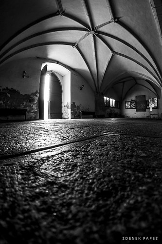 Light in the church by Zdenek Papes