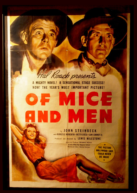 of men and mice john steinbecks story about loneliness and abandonment Halloween short story independent reading book guide and loneliness are ever-present themes in john steinbeck's works of mice and men is a prime example of steinbeck's sympathies for the downtrodden.