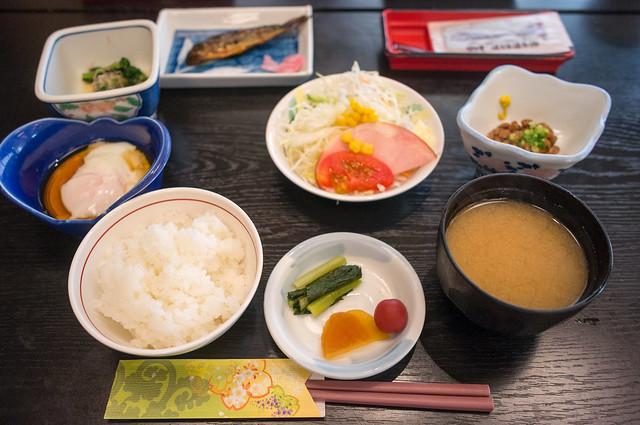 村上屋旅館 朝食