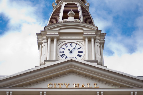 Main Street City Hall by Jeff.Hamm.Photography
