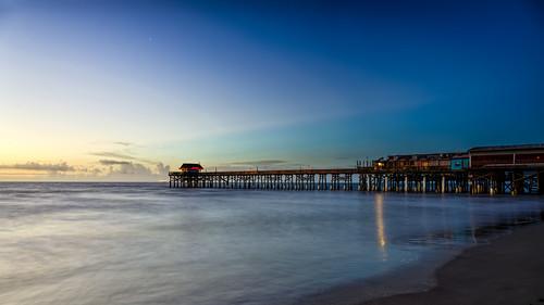 ocean sky usa reflection beach water weather sunrise stars landscape dawn day unitedstates florida clear shore astronomy cocoa cocoabeach centralflorida