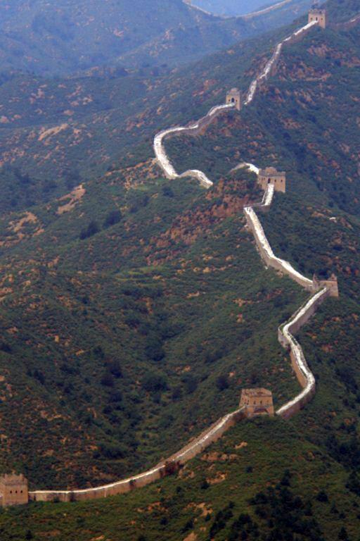 La gran muralla continua serpenteante Simatai, en las alturas de la Gran Muralla China - 9582344875 00c9a162fc o - Simatai, en las alturas de la Gran Muralla China