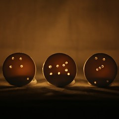 Constellation Votives for Design*Sponge