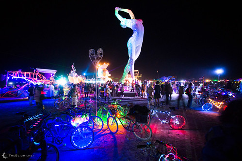 Truth is Beauty by Marco Cochrane at Burning Man 2013