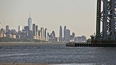 Lower Manhattan from Fort Lee Picnic Area