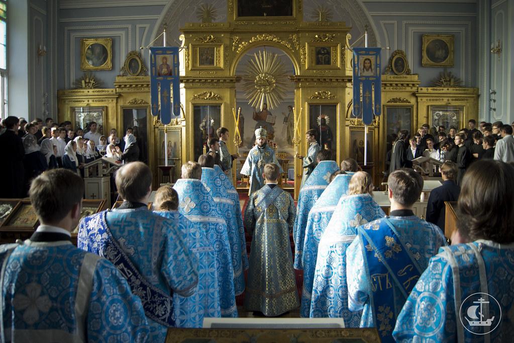 4 сентября 2013, Акафист Пресвятой Богородицы