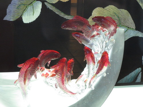 Fish Glass Sculpture