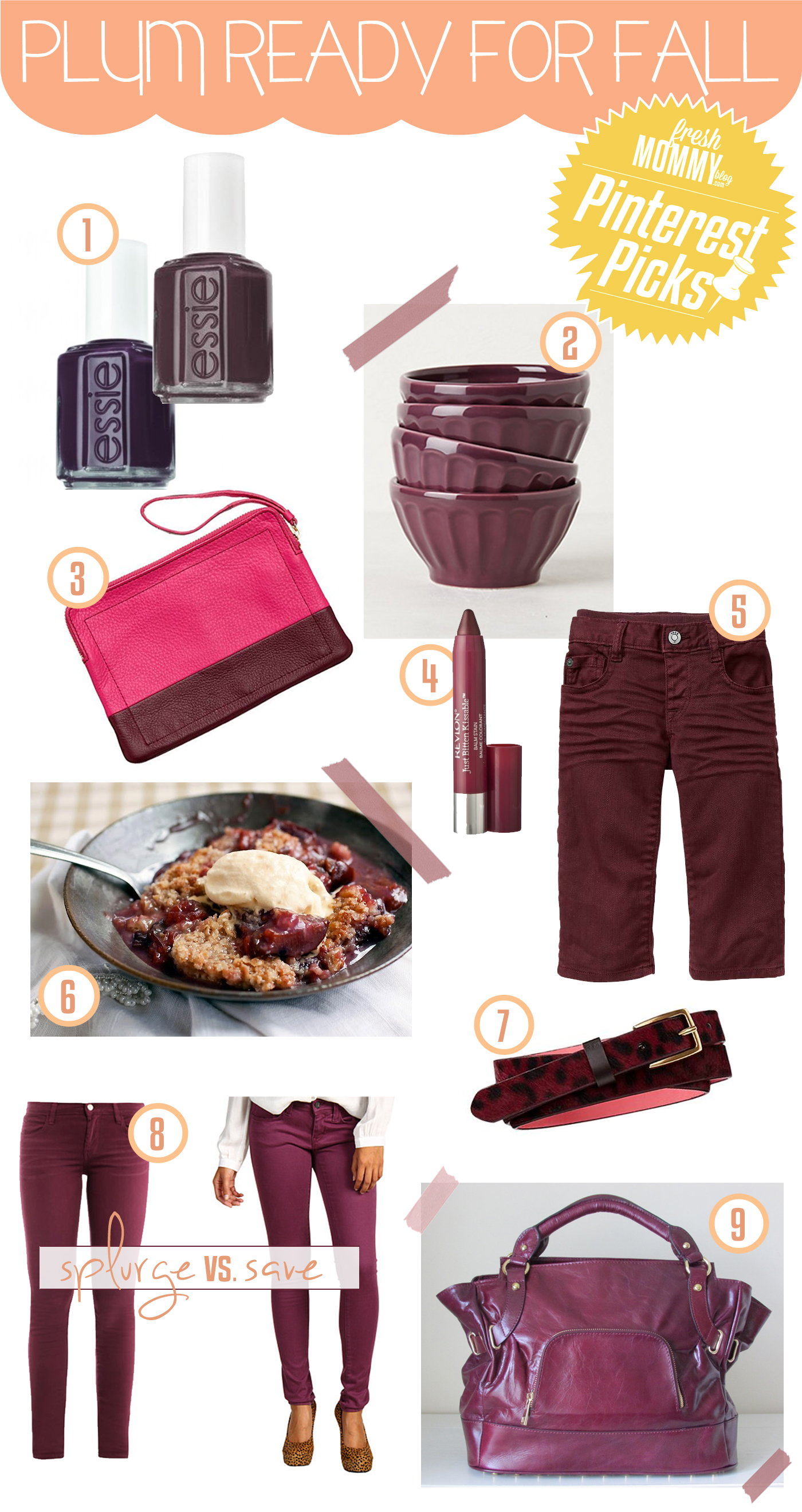 plum ready for fall inspiration board