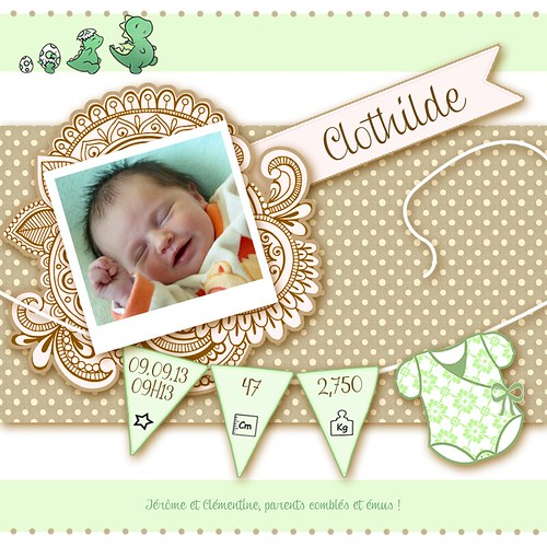 [Clothilde] Baby born !