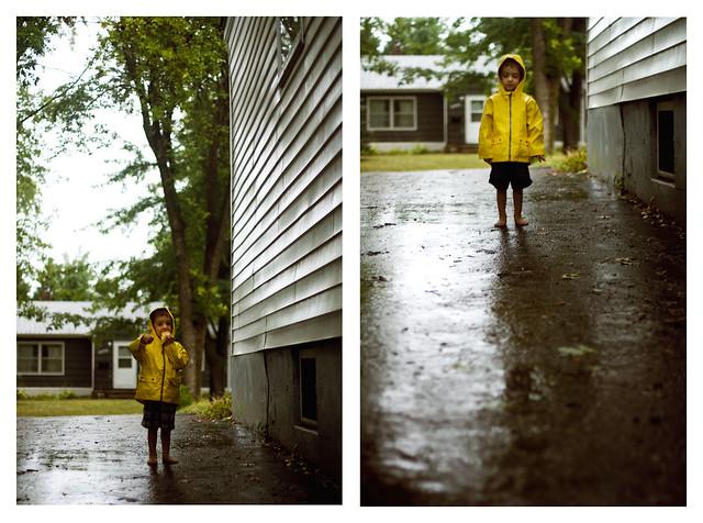 raincoat driveway