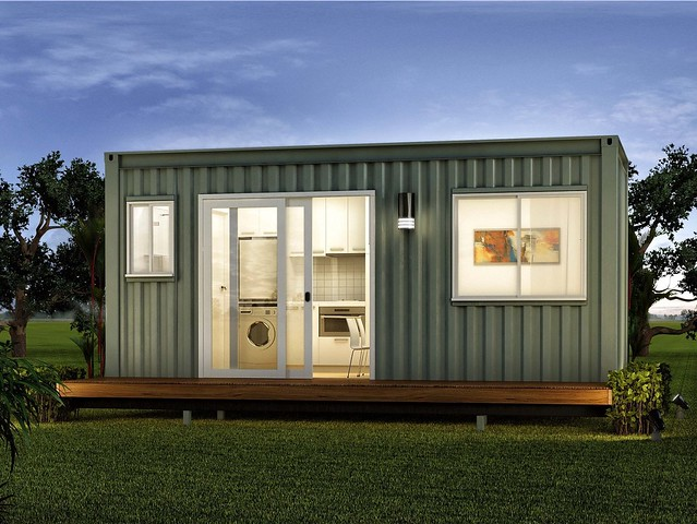 Santa fe one bedroom granny flats studio home flickr for Modern container home designs
