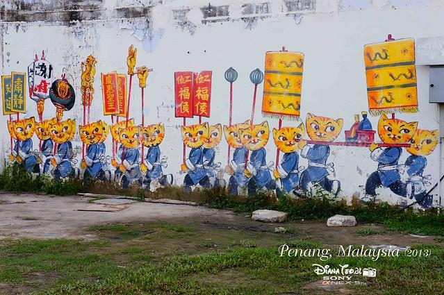 09. Penang's Art Street