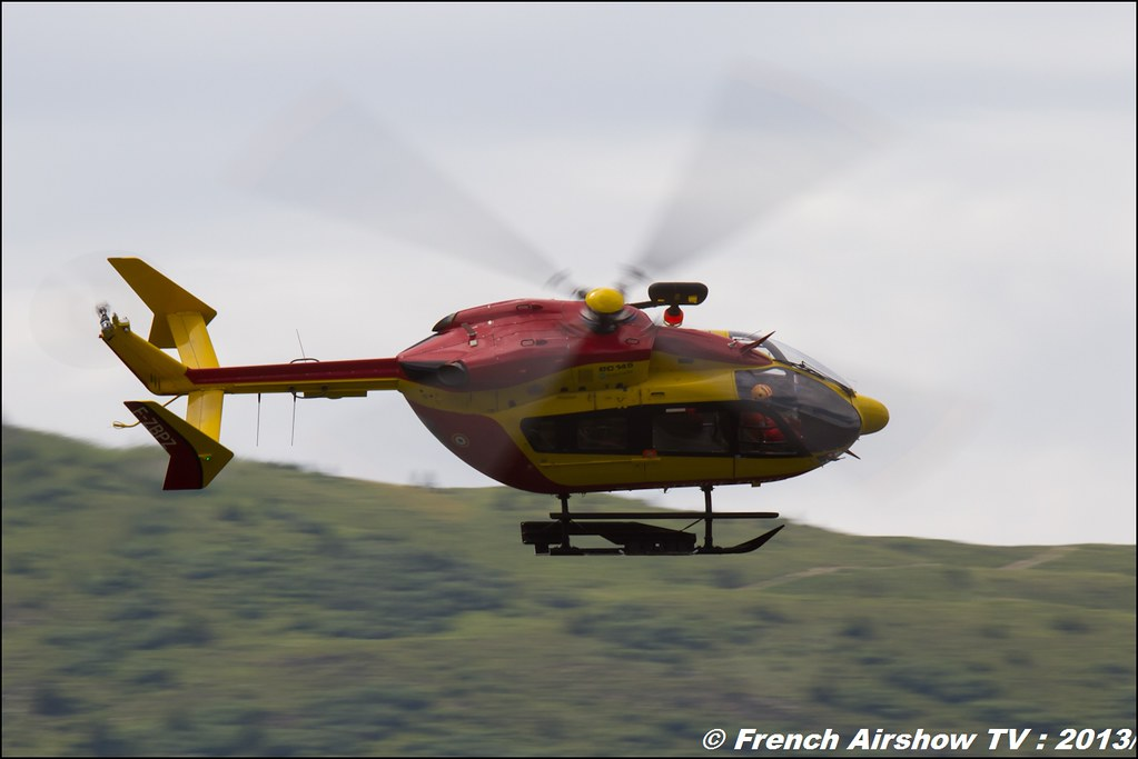 EC-145 Sécurité Civile, Meribel Air Show 2013