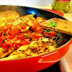#food #basil #tomato #chicken #delicious #shaytober #shayloss