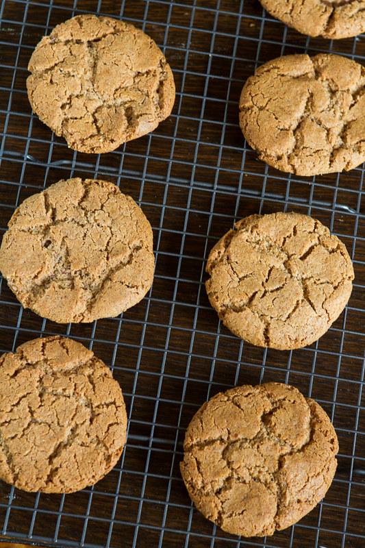 Nutella Stuffed Almond Butter Cookies