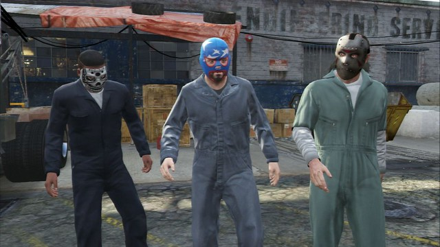 Grand Theft Auto V - Screenshot 1
