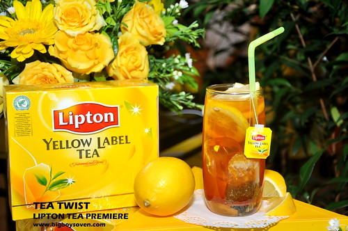 TEA TWIST Lipton Tea Premiere 10