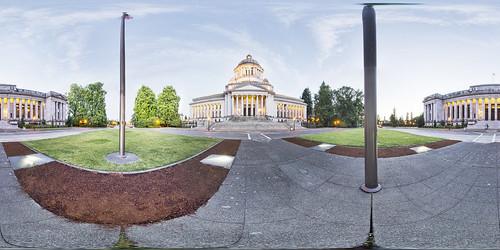 panorama court state capital olympia wa supreme equirectangular