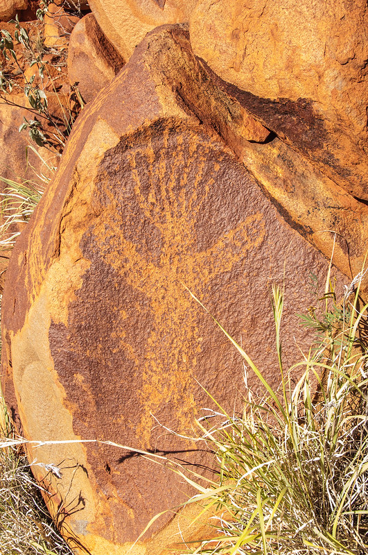 Aboriginal art at Punda