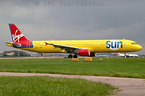 G-VKIS Virgin Sun Airbus A321