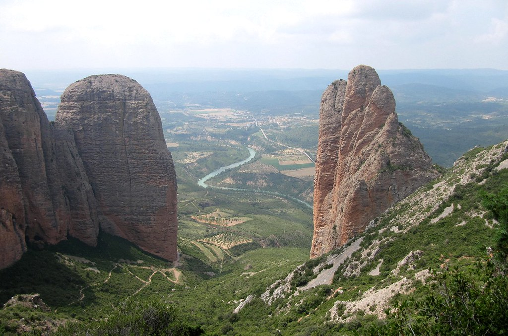 Espagne - Aragon - Huesca - Mallos de Riglos