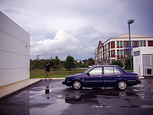 travel sky building nature weather clouds reflections petronas sarawak betong