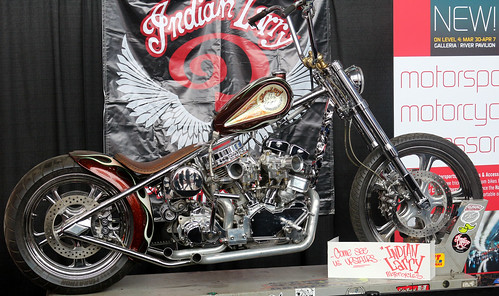Indian Larry Motorcycle