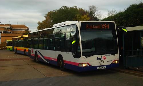 First Beeline ES64001 on Route X94, Bracknell Bus Station