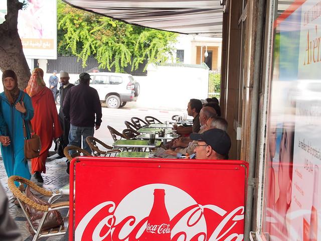 路旁的茶店