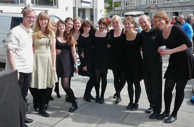 Onsdagsringen og Ungdomsringen deltok på Framsyningskappleiken i Steinkjer 2012.