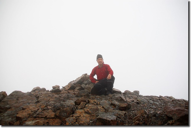 玉山東峰(Elev. 3869 m)