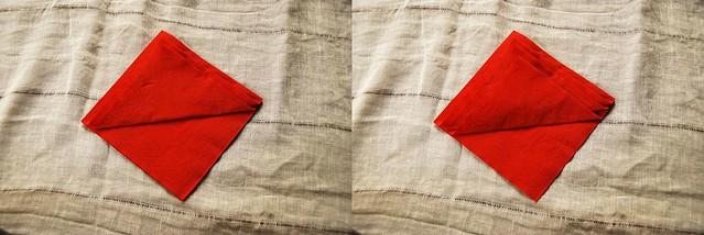 Pliage serviette pour Noël