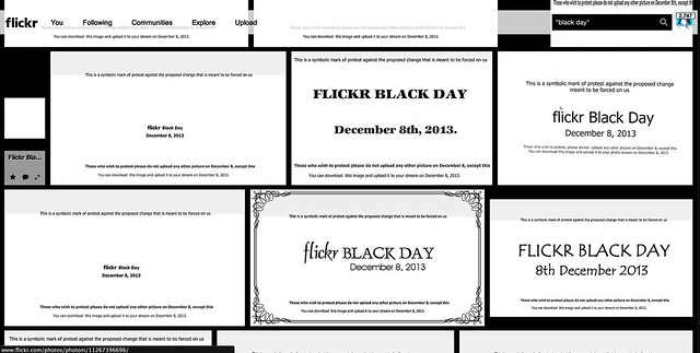 Why I Don't Support Flickr Black Day