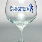 ベルギービール大好き!!【ブリガンドの専用グラス】(管理人所有 )