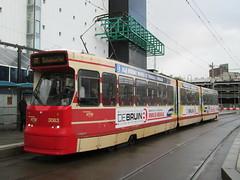 HTM GTL8 tram no. 3083, near Den Haag CS