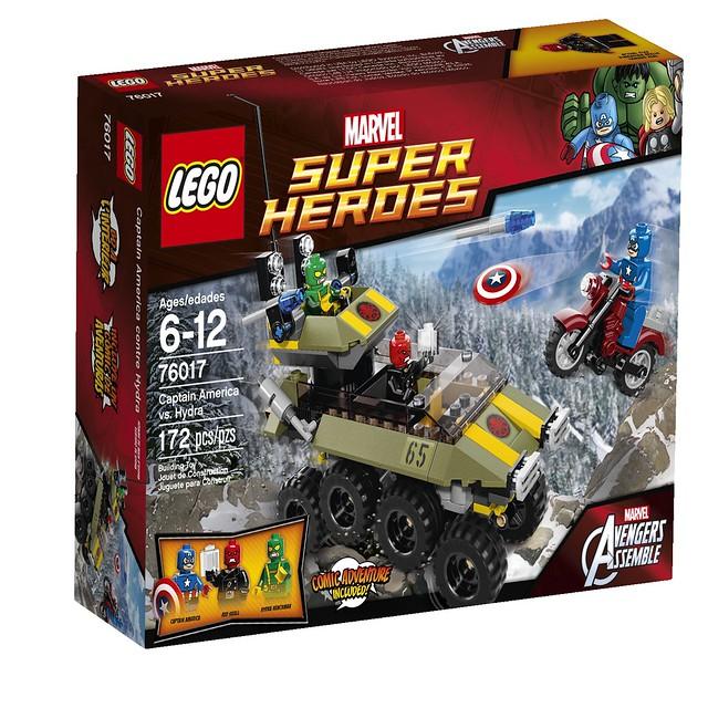 LEGO  Super Heroes Marvel 76017 - Captain America vs. Hydra