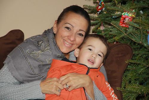 Nana Visits- December 2013