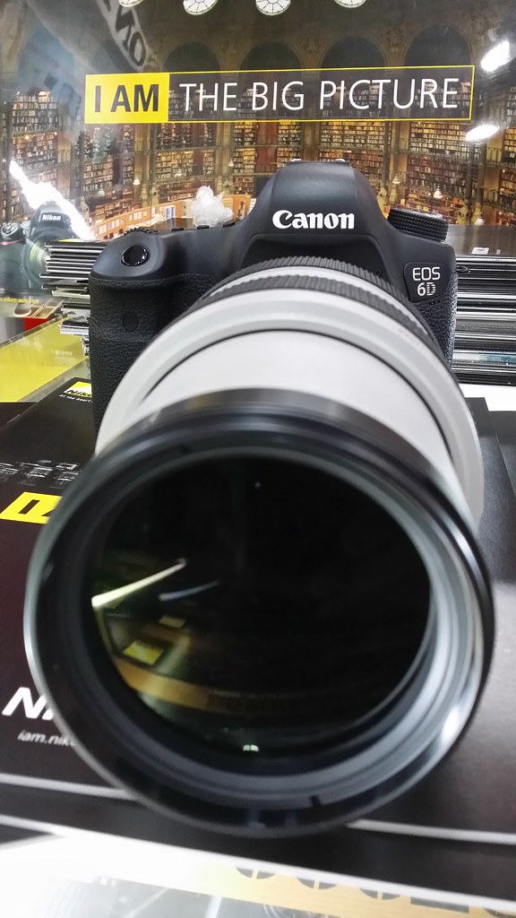 Canon 6D with 70-300mm F4-5.6L