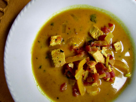 Curried Coconut Chicken Stew