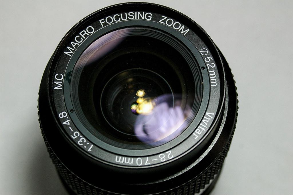 Vivitar 28-70mm 1:3.5-4.8 MC Macro Focusing Zoom