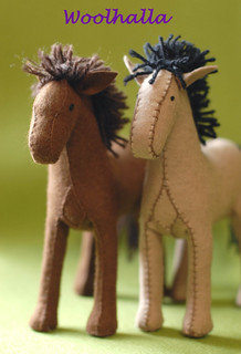 Felt Horse Kit - Make your Own!