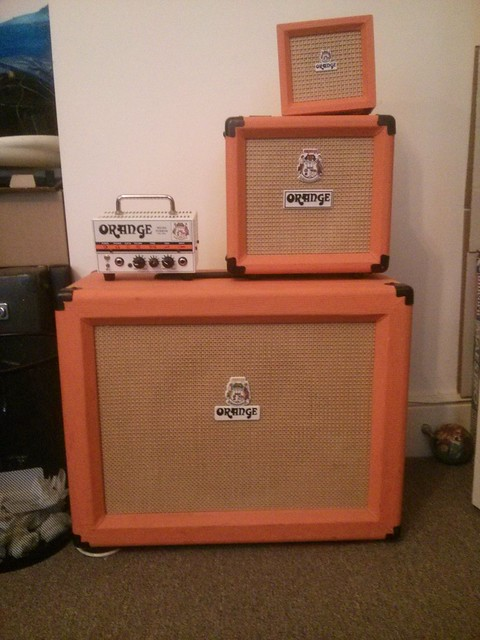 Photo:Orange Amps By wetwebwork