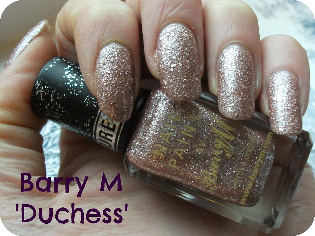 Barry M Duchess Royal Swatch NOTD
