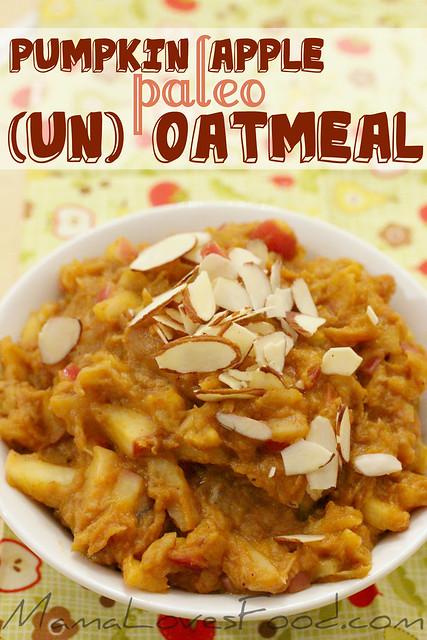 pumpkin apple oatmeal