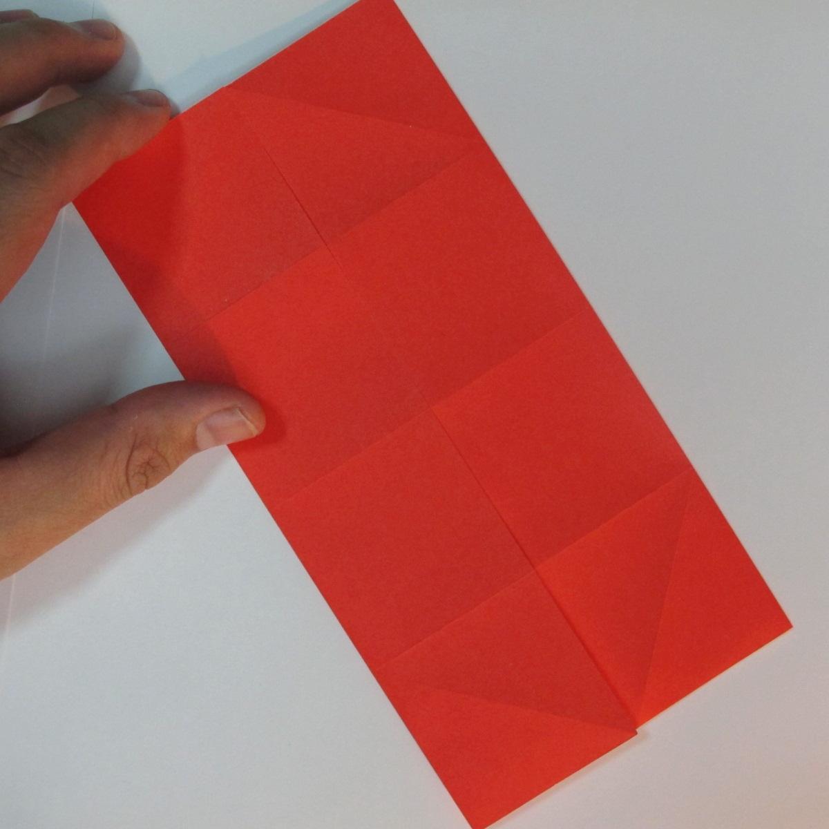 วิธีพับกระดาษพับดอกกุหลาบ 005