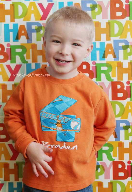 Braden is 4 Years Old!