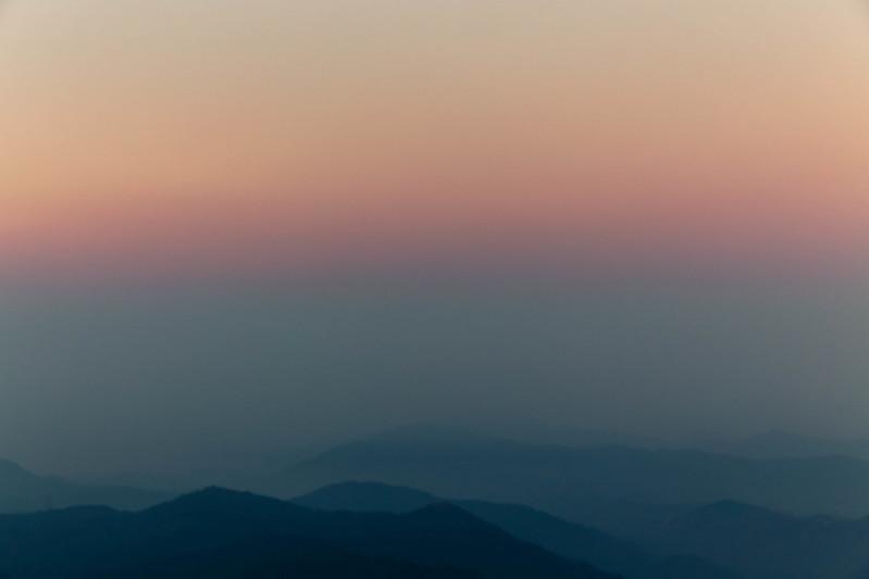 大帽山日出